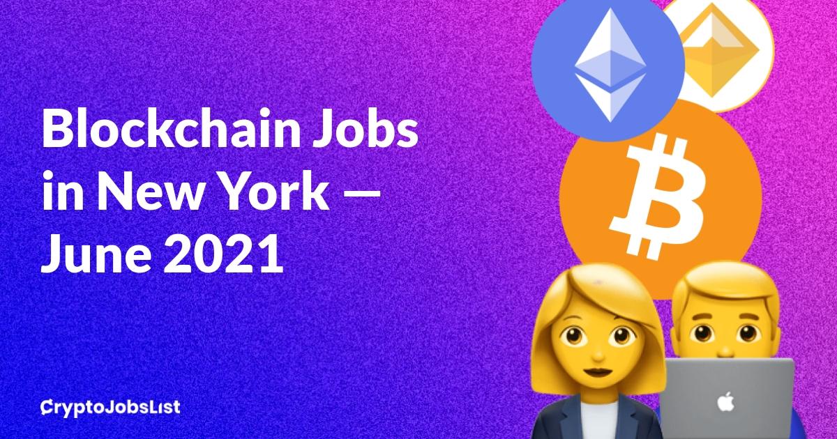bitcoin jobs nyc)